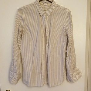 J crew button up Kathryn slim fit medium